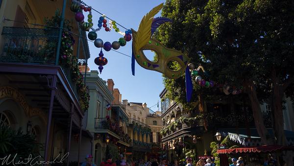 Disneyland Resort, Disneyland60, Christmas, Time, Disneyland, New, Orleans, Square