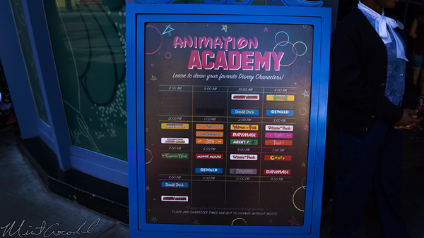 Disneyland Resort, Disney California Adventure, Hollywood Land, Animation, Building, Draw