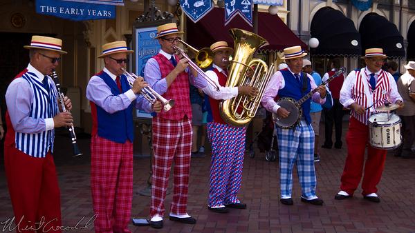 Disneyland Resort, Disneyland60, Disneyland, Band, Main Street U.S.A.