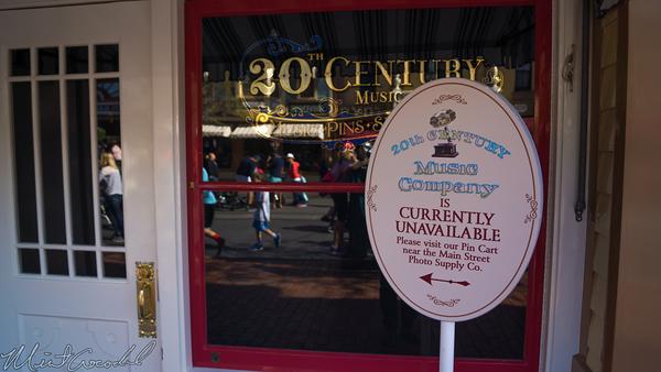 Disneyland Resort, Disneyland60, Disneyland, Main Street U.S.A., 20, Century, Music, Store,