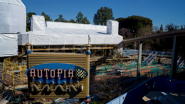 Disneyland Resort, Disneyland60, Disneyland, Tomorrowland, Autopia, Refurbishment, Refurbish, Refurb