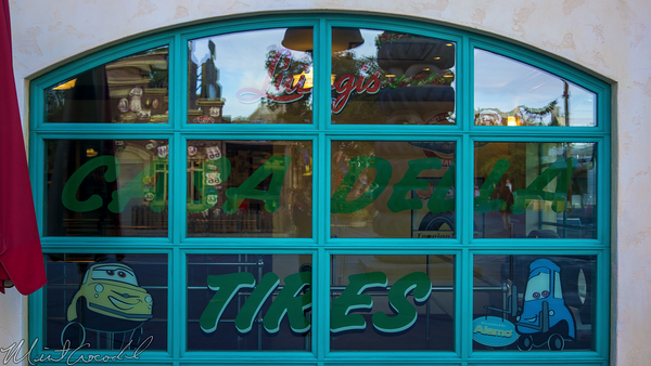 Disneyland Resort, Disneyland60, Christmas, Time, Disney California Adventure, Cars Land, Luigi, Flying, Tires, Rollickin, Roadsters, Casa, Della