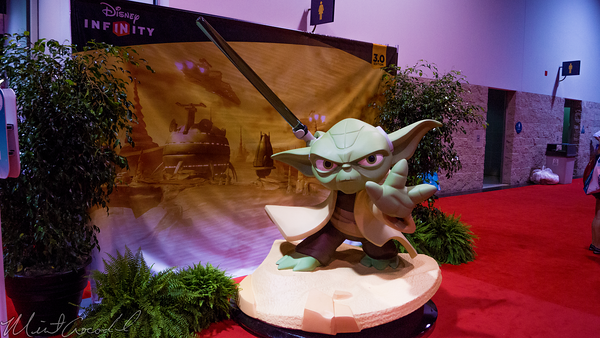 Disneyland Resort, Disneyland60, Disneyland, Disney California Adventure, D23, Expo, 2015, Show, Floor, Star, Wars
