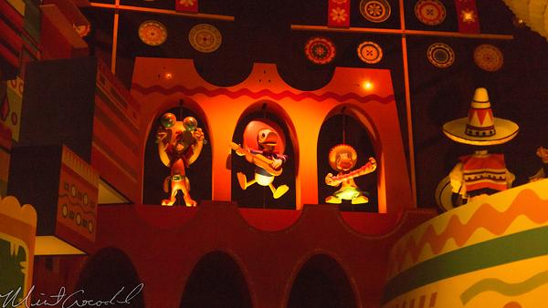 Hong, Kong, Disneyland, Fantasyland, it's a small world, Small, World