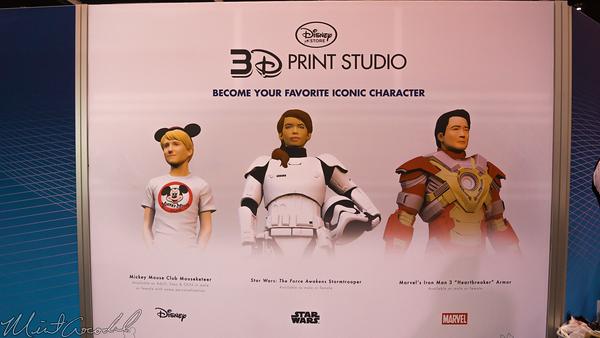 Disneyland Resort, Disneyland60, Disneyland, Disney California Adventure, D23, Expo, 2015, Show, Floor, Disney, 3D, Print, Studio