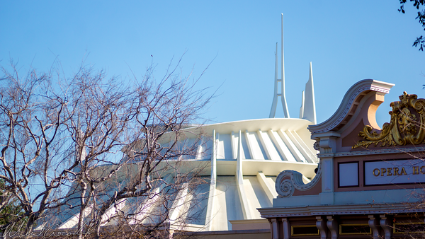 Disneyland Resort, Disneyland60, Disneyland, Main Street U.S.A., Railroad, Station, Depot, Space, Mountain, Tomorrowland