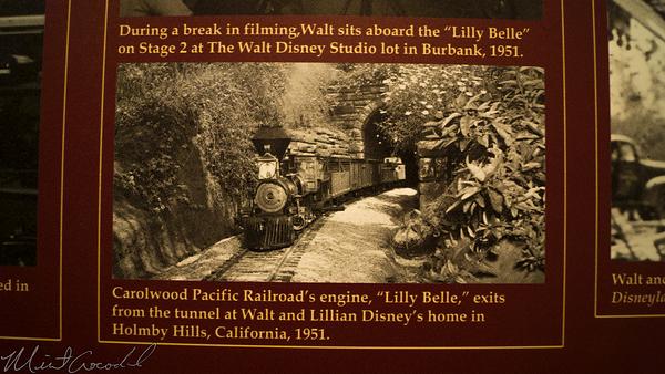 Disneyland Resort, Disneyland, Main Street U.S.A., Opera, House, Great, Moments, Mr., Lincoln, Walt, Disney, Railroad, Train, Display, Exhibit