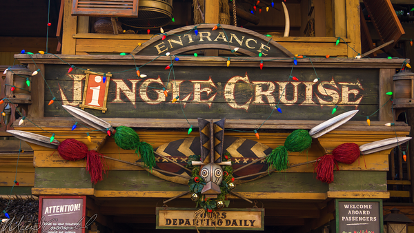Disneyland Resort, Disneyland60, Christmas, Time, Disneyland, Jungle, Cruise, Jingle, Adventureland