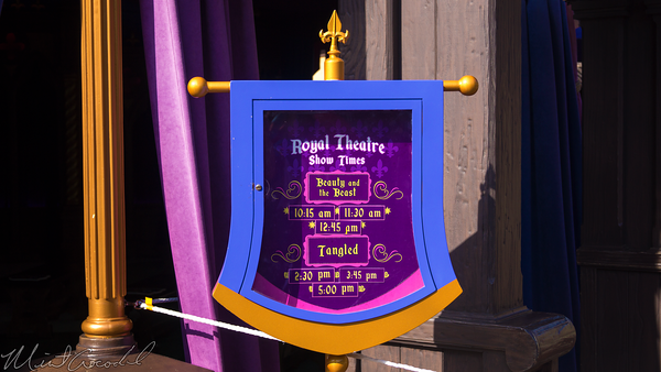 Disneyland Resort, Disneyland, Fantasyland, Fantasy, Faire, Royal, Theatre, Beauty, Beast