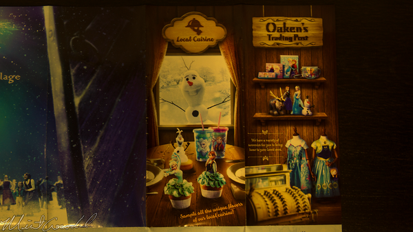 Hong, Kong, Disneyland, Frozen, Village
