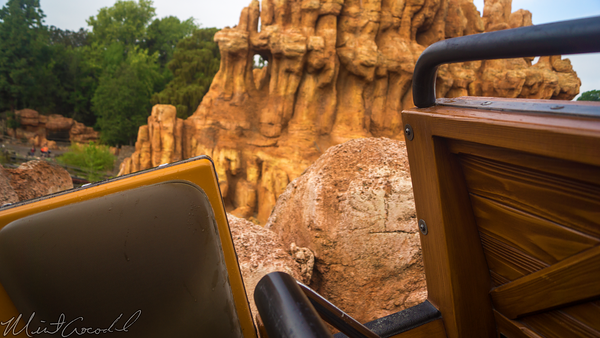 Disneyland Resort, Disneyland, Frontierland, Big, Thunder, Mountain, Railroad, Star, Wars, Construction