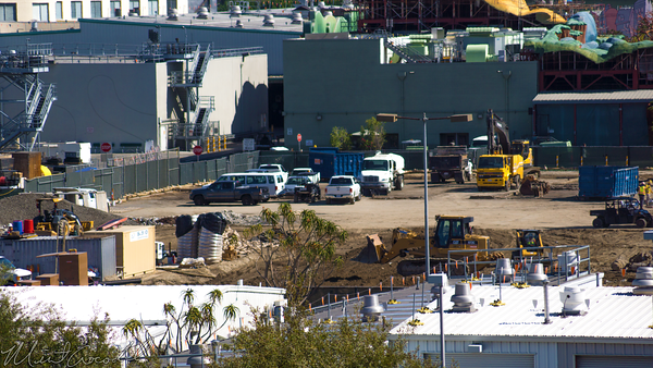 Disneyland Resort, Disneyland, Mickey, Friends, Parking, Structure, Backstage, Star, Wars, Land, Construction