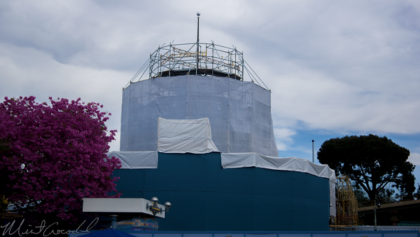 Disneyland Resort, Disneyland, Tomorrowland, Autpoia, Refurbishment, Refurbish, Refurb, Honda, Paint, Painting