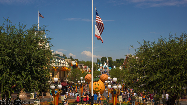 Disneyland Resort, Disneyland60, Disneyland, Main Street U.S.A., Halloween, Time