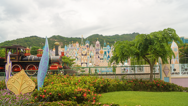 Hong, Kong, Disneyland, Train, Railroad, Fantasyland
