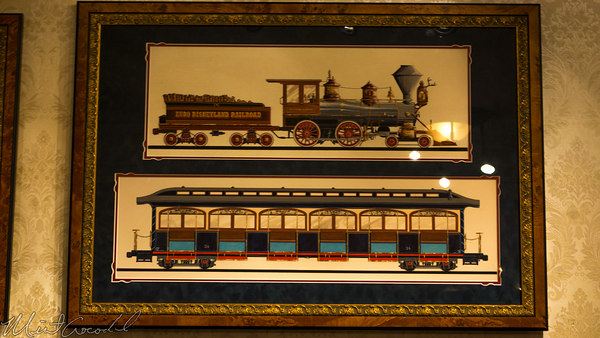Disneyland Resort, Disneyland, Main Street U.S.A., Opera, House, Great, Moments, Mr., Lincoln, Walt, Disney, Railroad, Train, Display, Exhibit