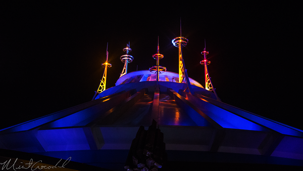 Hong, Kong, Disneyland, Tomorrowland, Space, Mountain