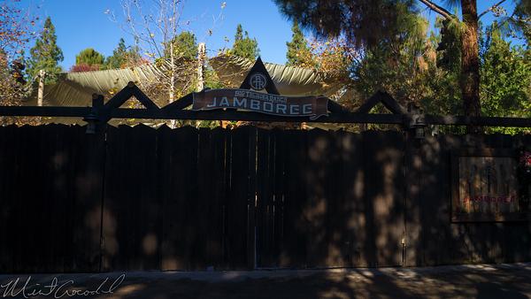 Disneyland Resort, Disneyland60, Christmas, Time,, Disneyland, Frontierland, Big, Thunder, Trail, Ranch