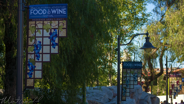 Disneyland Resort, Disney California Adventure,  Food, Wine, Festival, Flag, Banner