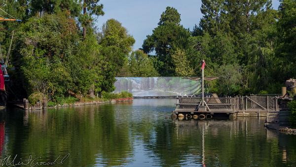 Disneyland Resort, Disneyland, Frontierland, River, America, Rivers, Star, Wars, Land, Construction, Cofferdam, Dam