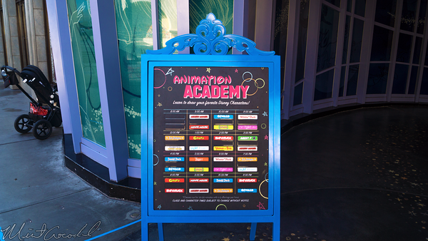 Disneyland Resort, Disneyland60, Halloween, Time, Disney California Adventure, Hollywood Land, Animation, Academy, Billboard, Sandwich, Board, Character, Draw