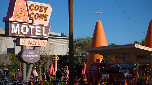 Disneyland Resort, Disneyland, Disney California Adventure, Cars Land, Cozy, Cone, Motel