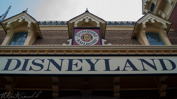 Disneyland Resort, Disneyland60, Disneyland, Main Street U.S.A., Train, Railroad, Station, Depot, Refurbishment, Refurbish, Refurb