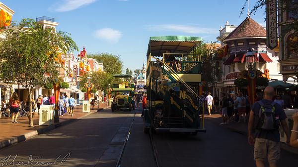 Disneyland Resort, Disneyland60, Halloween, Time, Disneyland, Main Street U.S.A., Omnibus