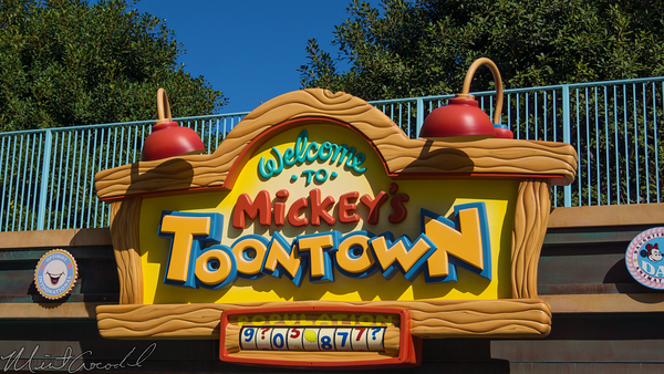 Disneyland Resort, Disneyland, Mickey, Toon, Town, ToonTown