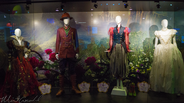 Disneyland Resort, Disneyland60, Disneyland, Disney California Adventure, D23, Expo, 2015, Show, Floor, Alice, Wonderland, Looking, Glass, Movi