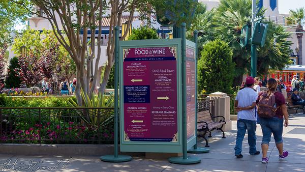 Disneyland Resort, Disney California Adventure, Buena, Vista, Street, Food, Wine, Festival