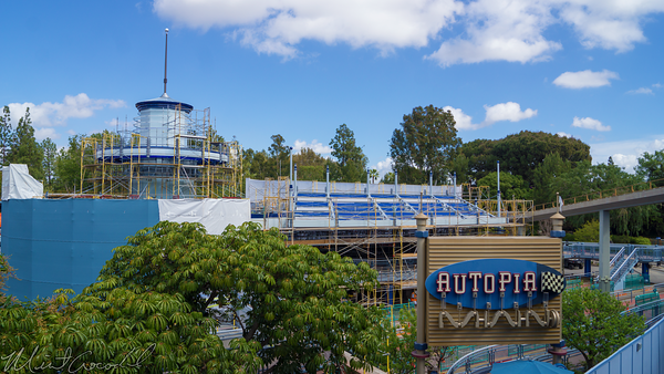 Disneyland Resort, Disneyland, Tomorrowlnand, Autopia, Refurbishment, Refurbish, Refurb, Honda