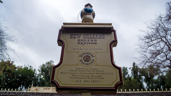 Disneyland Resort, Disneyland60, Disneyland, New, Orleans, Square, Frontierland, Depot, Station, Railroad, Train, Refurbishment, Refurbish, Refurb