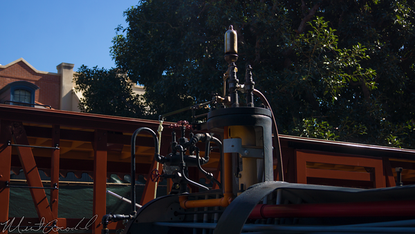 Disneyland Resort, Disneyland, Frontierland, Railroad, Station, Depot, Train, Kalamazoo, Whistle
