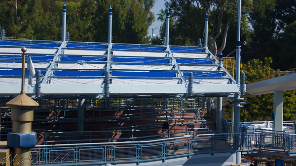 Disneyland Resort, Disneyland, Tomorrowland, Autopia, Refurbishment, Refurb, Refurbish