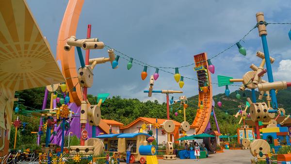 Hong, Kong, Disneyland, Toy, Story, Land, RC Racer