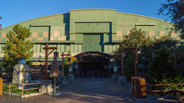 Disneyland Resort, Disneyland60, Christmas, Time, Disney California Adventure, Soarin, California, Grizzly, Peak, Airfield