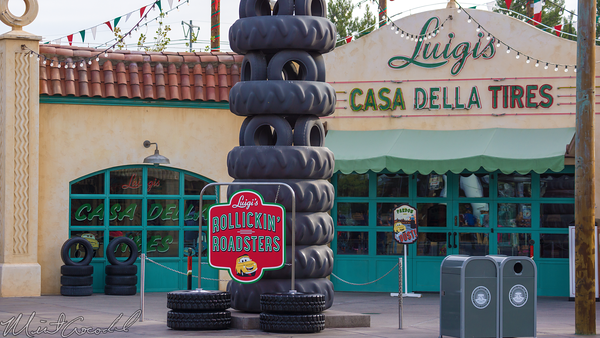 Disneyland Resort, Disneyland60, Disney California Adventure, Cars Land, Luigi, Rollickin, Roadsters