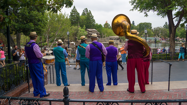Disneyland Resort, Disneyland60, Disneyland, Disney California Adventure, New, Orleans, Square, Band