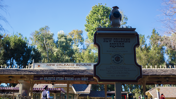 Disneyland Resort, Disneyland60, Disneyland, Frontierland, New, Orleans, Square, Railroad, Train, Station