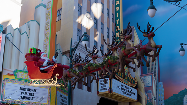 Disneyland Resort, Disneyland60, Christmas, Time, Disney California Adventure, Hollywood Land