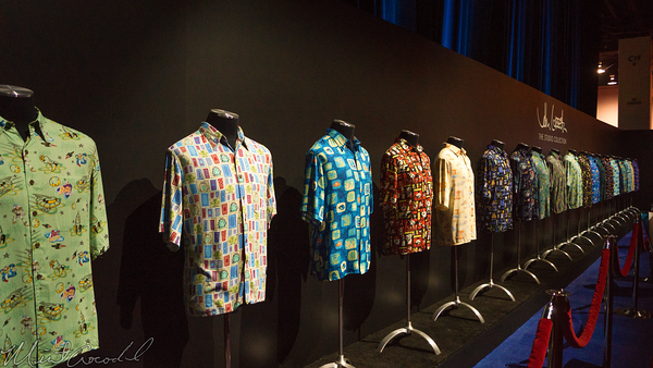 Disneyland Resort, Disneyland60, Disneyland, Disney California Adventure, D23, Expo, 2015, Show, Floor, John, Lasseter, Hawaiian, Shirt, Collection