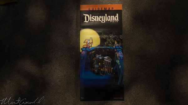 Disneyland Resort, Disneyland60, Disneyland, Halloween, Time, Guide, Map