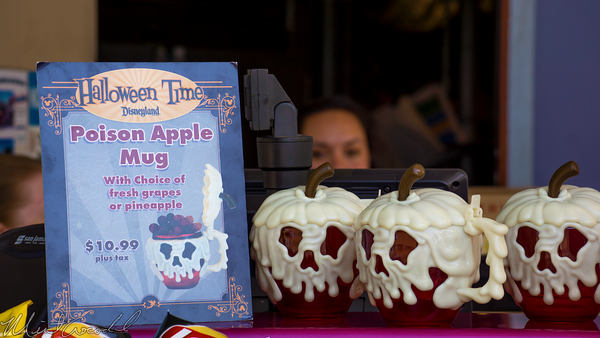 Disneyland Resort, Disneyland60, Halloween, Time, Disneyland, Tomorrowland, Poison, Apple, Souvenir, Mug