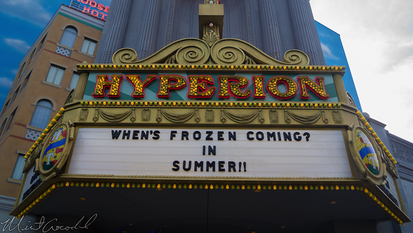 Disneyland Resort, Disneyland60, Disney California Adventure, Hyperion, Theater, Aladdin, Frozen, Refurbishment, Refurbish, Refurb
