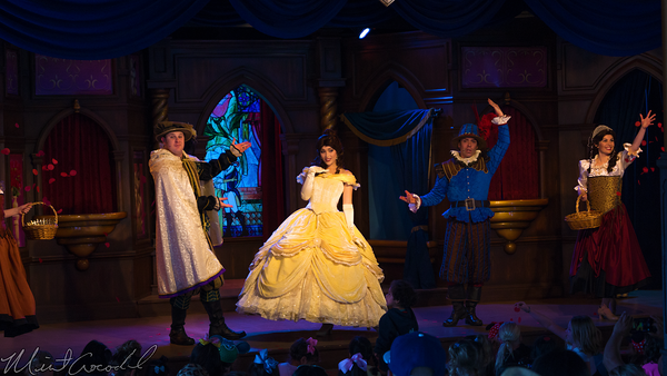 Disneyland Resort, Disneyland, Fantasyland, Fantasy, Faire, Royal, Theatre, Beauty, Beast