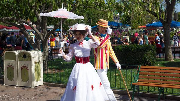 Disneyland Resort, Disneyland, Mary, Poppins, Bert, Burt
