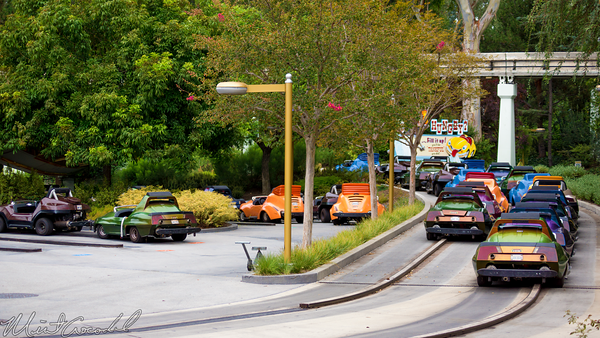 Disneyland Resort, Disneyland60, Disneyland, Tomorrowland, Autopia, Closed, Refurbishment, Refurbish, Refurb