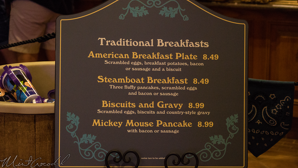 Disneyland Resort, Disneyland60, Disneyland, Frontierland, Zocalo, del, Restaurant, Restaurante, Breakfast
