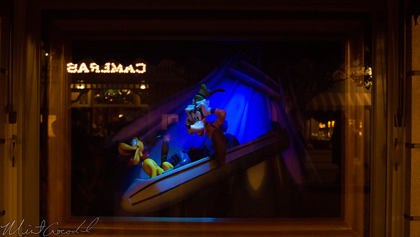 Hong, Kong, Disneyland, Main Street U.S.A., Emporium, Window, Display